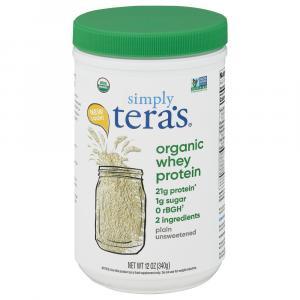 Tera's Whey Gluten Free Organic Unsweetened Plain
