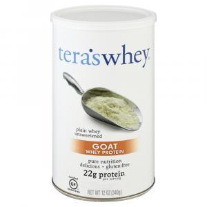 Tera's Whey Gluten Free Goat Plain Unsweetened