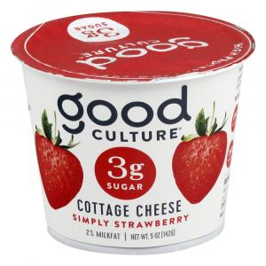 Good Culture Simply Strawberry Cottage Cheese