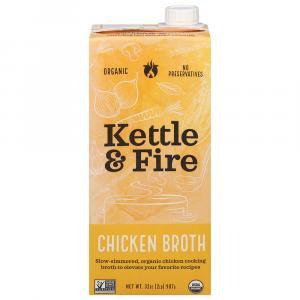 Kettle & Fire Organic Chicken Broth