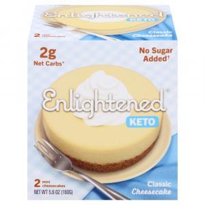 Enlightened Keto Original Mini Cheesecake