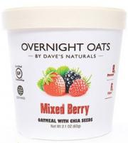Dave's Overnight Oats Mixed Berry