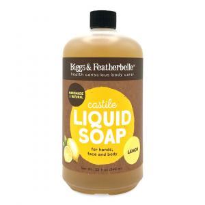 Bigg's & Featherbelle Lemon Castile Hand Soap Refill