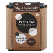 Biggs & Featherbelle Panda Bar Soap Charcoal & Sea Salt