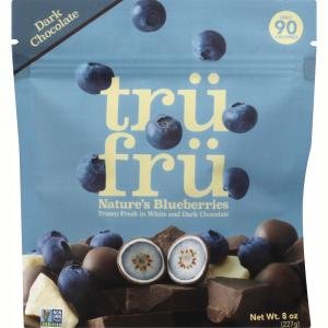 Tru Fru Blueberries in Premium White & Dark Chocolate