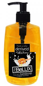 Belux Liquid Hand Soap Pump Milk & Honey