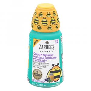 Zarbee's Children Cough Syrup Mucus and Immune