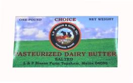 L.P. Bisson & Sons Inc. Salted Butter