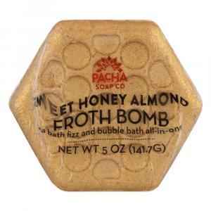 Pacha Soap Company Froth Bomb Honey Almond