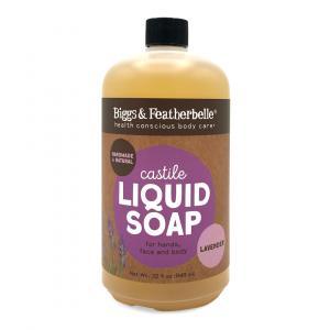 Bigg's & Featherbelle Lavender Castile Hand Soap Refill