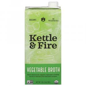 Kettle & Fire Organic Vegetable Broth