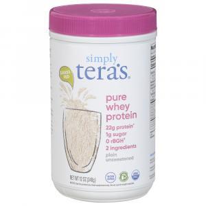 Tera's Whey Gluten Free Unsweetened Plain
