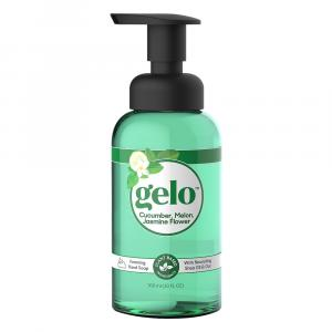 Gelo Cucumber, Melon, Jasmine Flower Foaming Hand Soap Pump
