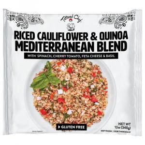 Tattooed Chef Riced Cauliflower & Quinoa Mediterranean Blend