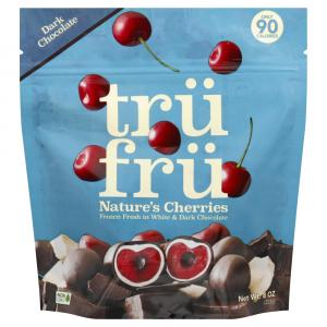 Tru Fru Whole Cherries in Premium White & Dark Chocolate