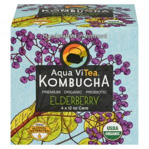 Aqua Vitea Elderberry Kombucha