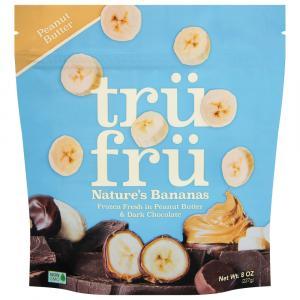 Tru Fru Nature's Bananas in Peanut Butter & Dark Chocolate