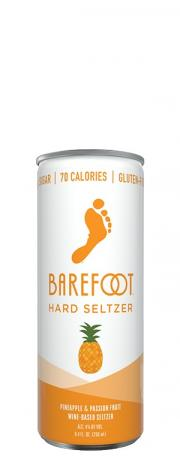 Barefoot Hard Seltzer Pineapple Passionfruit
