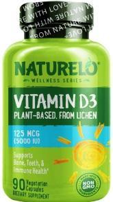 Naturelo Vitamin D3 Capsules