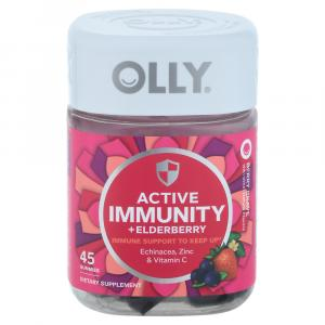 Olly Active Immunity + Elderberry Berry Brave Gummies