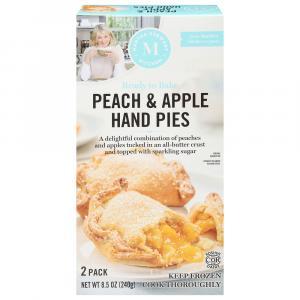 Martha Stewart Kitchen Peach & Apple Hand Pies