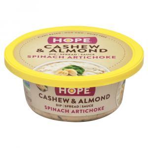 Hope Spinach Artichoke Cashew & Almond Dip