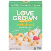 Love Grown Foods Original Power O's Cereal