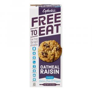 Cybele's Free to Eat Gluten Free Oatmeal Raisin Cookies