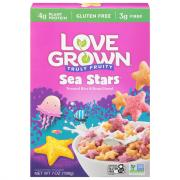 Love Grown Wheat Free Fruity Sea Stars Cereal