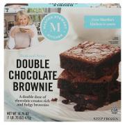 Martha Stewart Kitchen Double Chocolate Brownies