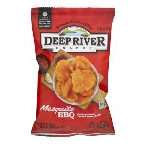 Deep River Mesquite Barbeque Chips