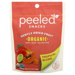 Peeled Snacks Organic Gently Dried Tropical Blend