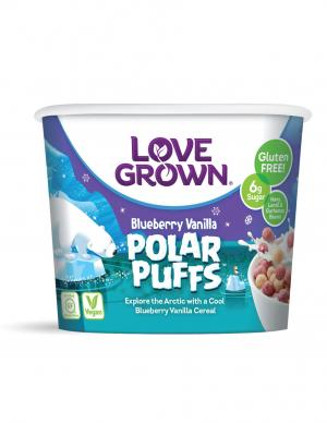 Love Grown Polar Puffs Cereal Cup