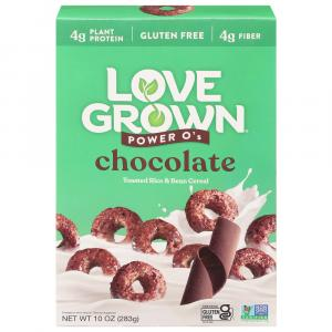 Love Grown Foods Power O's Chocolate Cereal
