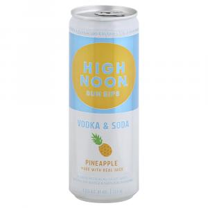 High Noon Pineapple Vodka & Soda