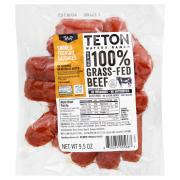 Teton Waters Ranch Grass-Fed Beef Smoked Cocktail Sausages