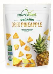 Nature's Intent Organic Dried Pineapple No Sugar Added