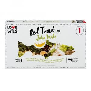Love The Wild Red Trout With Salsa Verde