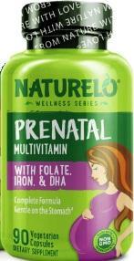 Naturelo Prenatal Multivitamin