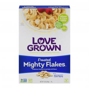 Love Grown Foods Frosted Mighty Flakes (no Wheat Or Corn)