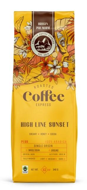 Roasted Coffee Express High Line Sunset Ground Coffee