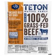 Teton Waters Grass Fed Beef Hot Dogs