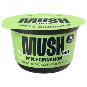 Mush Overnight Oats Dairy Free Apple Cinnamon Yogurt