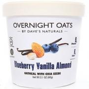 Dave's Overnight Oats Blueberry Vanilla Almond