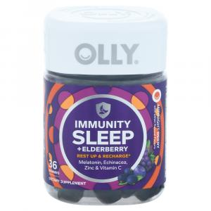 Olly Immunity Sleep + Elderberry Gummies