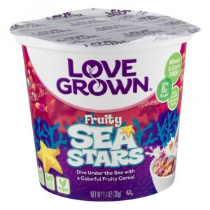 Love Grown Sea Stars Cereal Cup