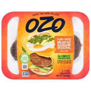 OZO Plant Based Original Sausage Patty