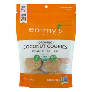 Emmy's Organic Peanut Butter Coconut Cookies