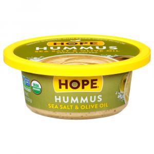 Hope Organic Sea Salt & Olive Oil Hummus