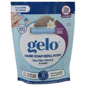 Gelo Hand Soap Refill Pods Sea Mist, Mineral, Freesia